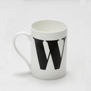 Mug - Alphabet W