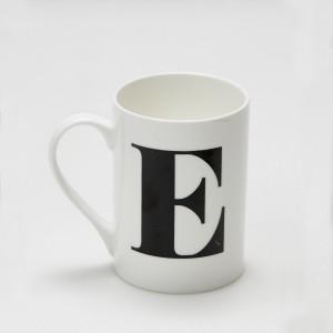 Mug - Alphabet E