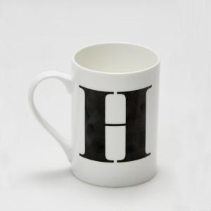 Mug - Alphabet H