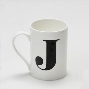 Mug - Alphabet J