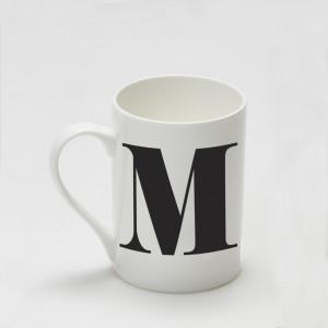 Mug - Alphabet M
