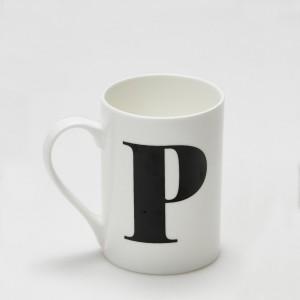 Mug - Alphabet P