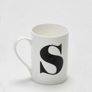 Mug - Alphabet S