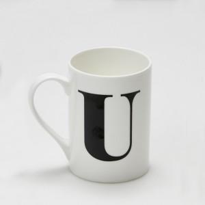 Mug - Alphabet U